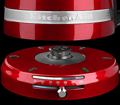KitchenAid Variable Temperature Electric Kettle Heating Base in Red