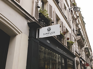 Simplex Kettle, Store Sign in England