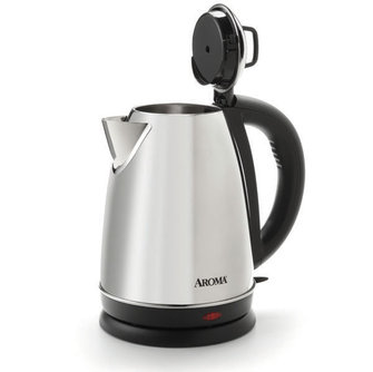Pop Top on the Aroma Electric Kettle